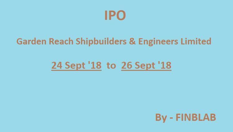 Garden reach shipbuilders ipo gmp
